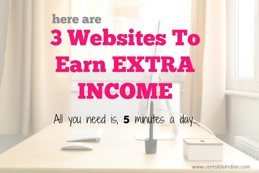 3 websites to earn extra income